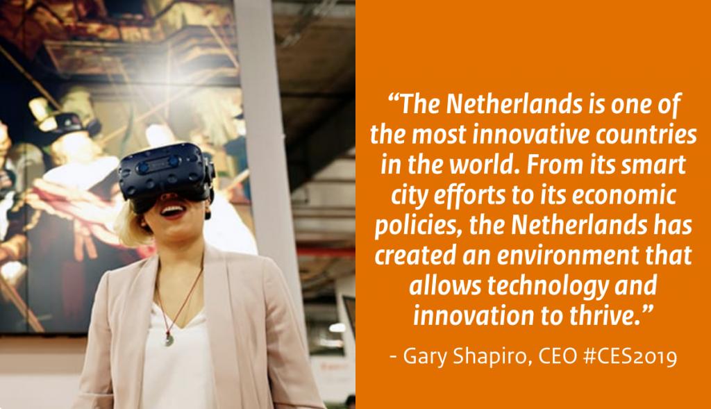 Quote Gary Shapiro Holland Tech Square