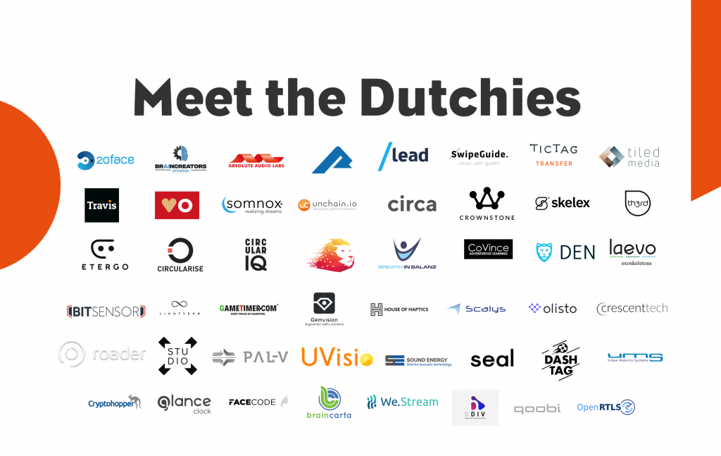 Meet the Dutchies! CES 2019 - Holland Tech Square